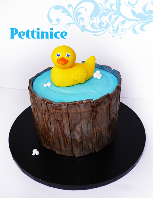 Rubber duck cake tutorial With Joanne Tan of Scrumptious Cake