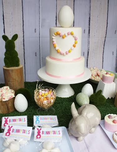Easter cake party table by Trudy Nicholls - Cherry Cake