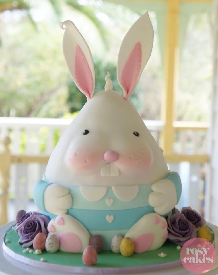 Easter Bunny by Jessica Atkins - Rosie Cakes