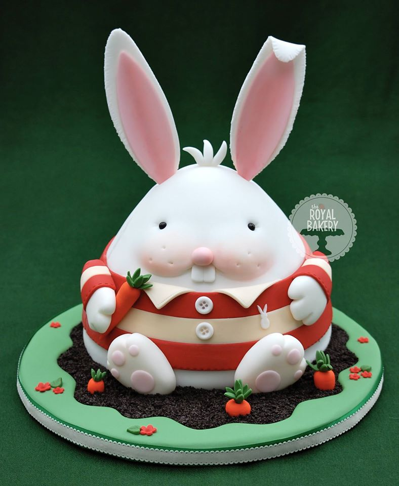 Easter Bunny by Lesley Wright- Royal Bakery