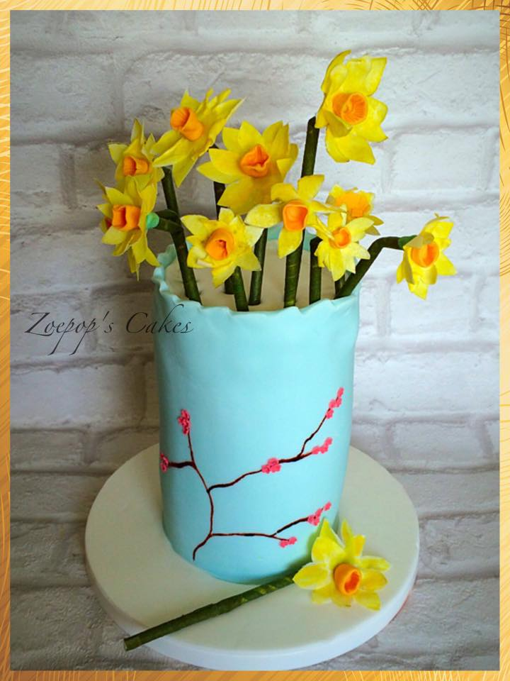 Daffodil Easter Bouquet by Zoe MacDonald - Zoepop's Cakes