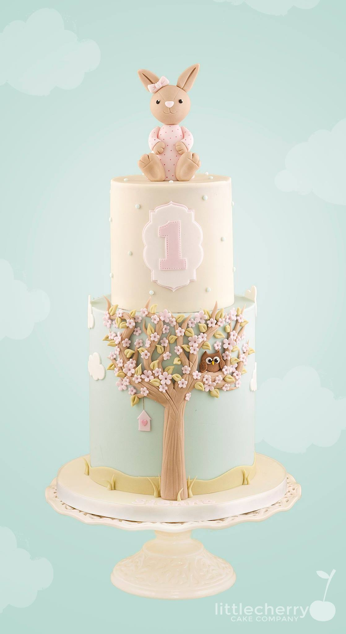 Easter Cake by Tracey Louise Rothwell - Little Cherry Cake Company