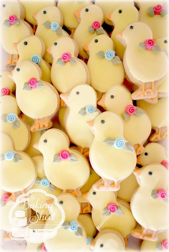 Little chick cookies by Loren O'Neill Ebert - The Baking Sheet