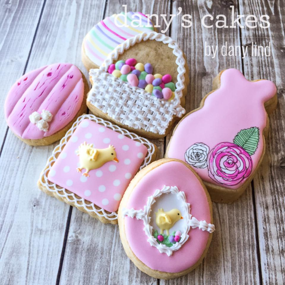 Easter cookies by Dany Lind - Dany's Cakes