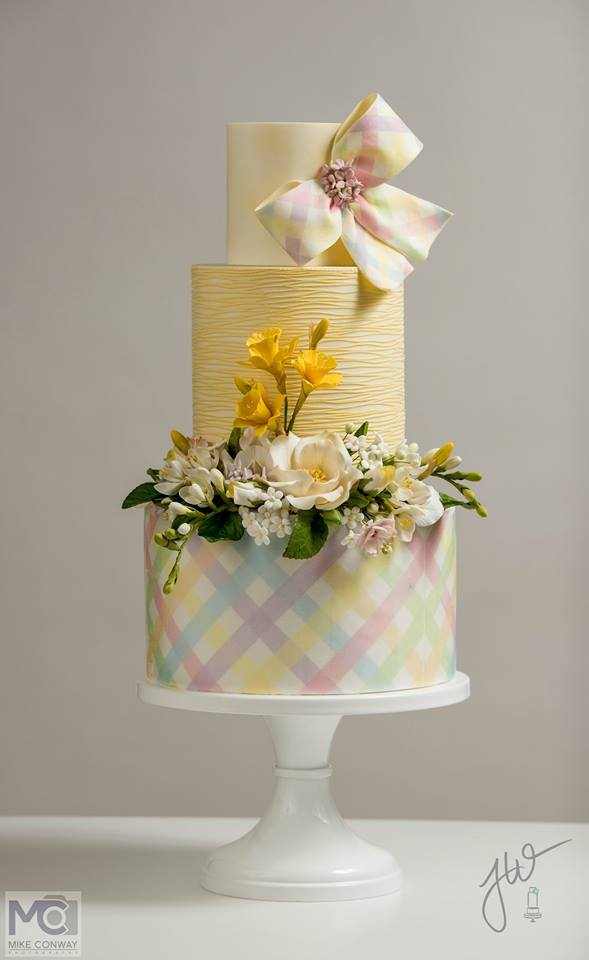 Festive Easter cake by Jeanne Winslow Cake Design
