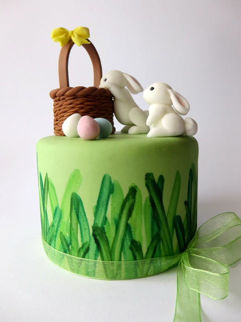 how to make a fondant basket