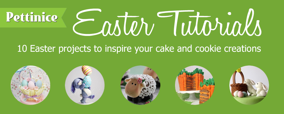 10 Easter cake tutorials to inspire your cake and cookie creations