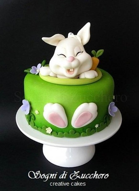 Happy Easter Cake! - by SogniDiZucchero