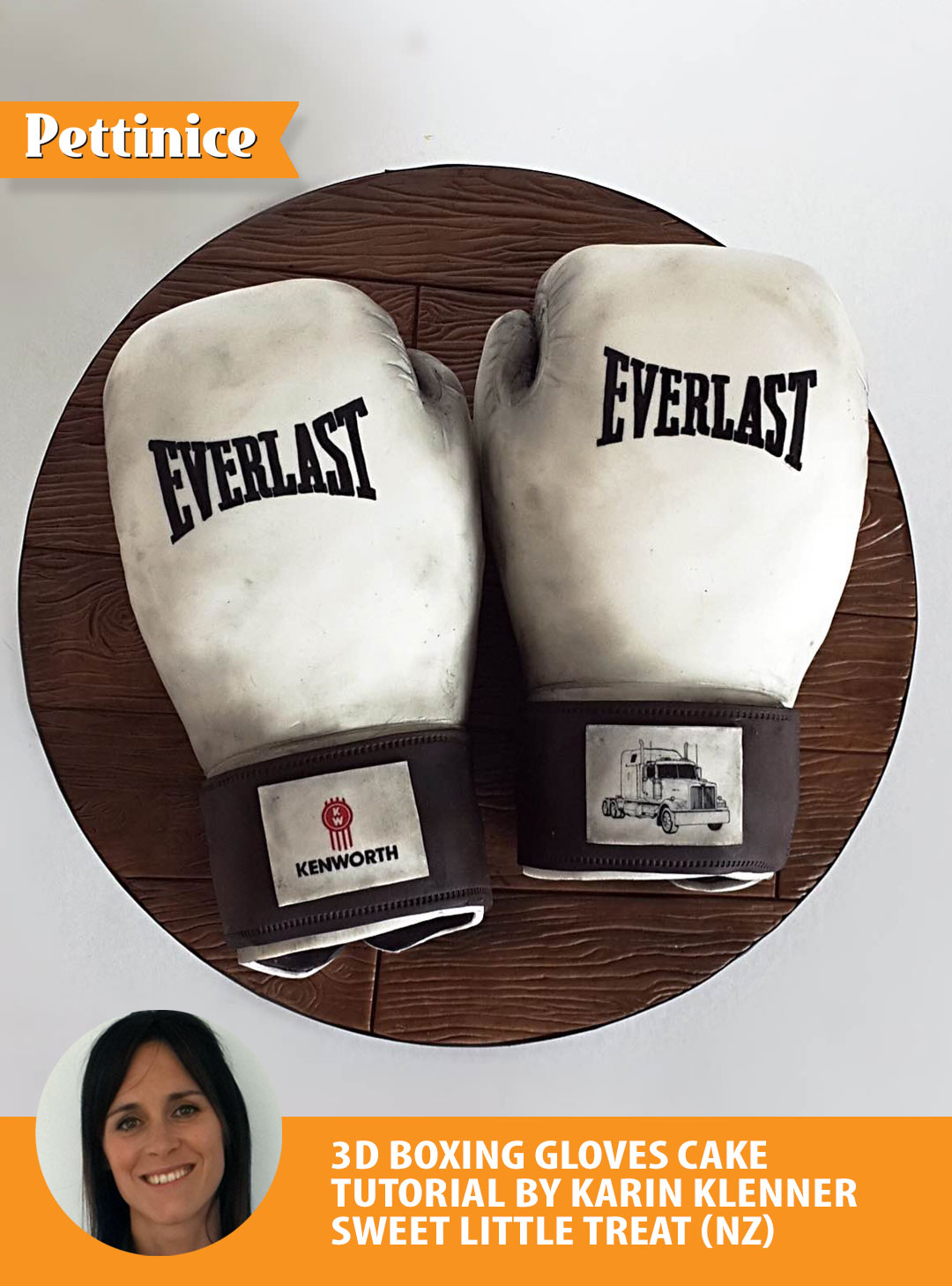 How to make a boxing glove cake