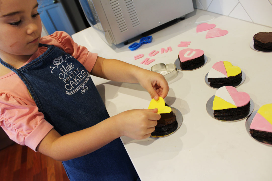Have fun and be creative covering your brownies!