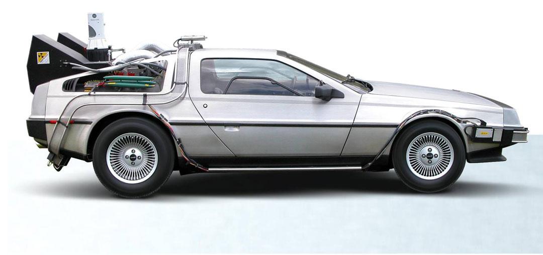 Pettinice | Back to the Future cake DeLorean DMC-12 blueprint