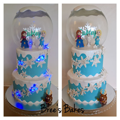Frozen Cake by Bree Harris