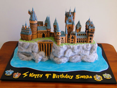 Harry Potter Cake by Carolyn Elder