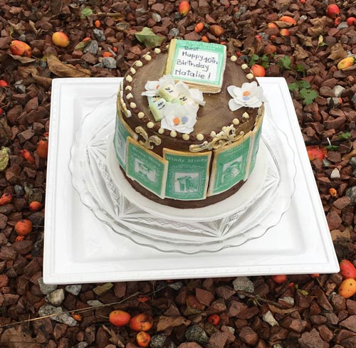 David Walliams book cake by Loredana Robertson