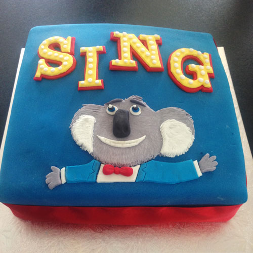 Sing Cake by Gillian White