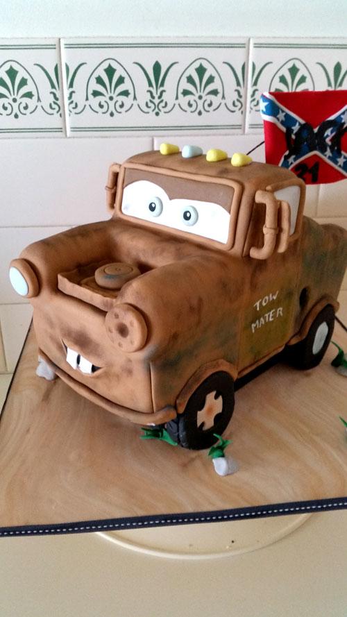 3D Mater Cake by Hayley Brown