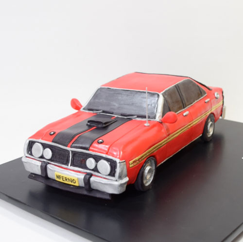 Ford Falcon Cake by Liz Russell
