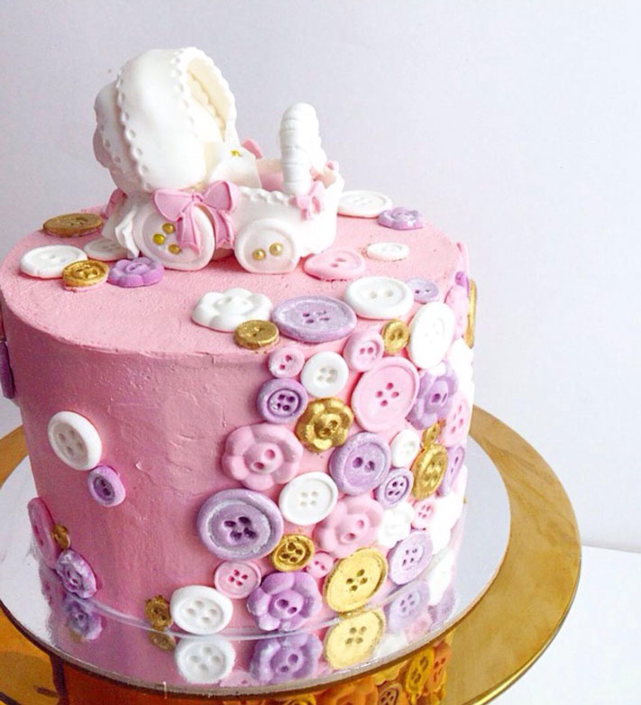 Baby Shower cake by Elle West