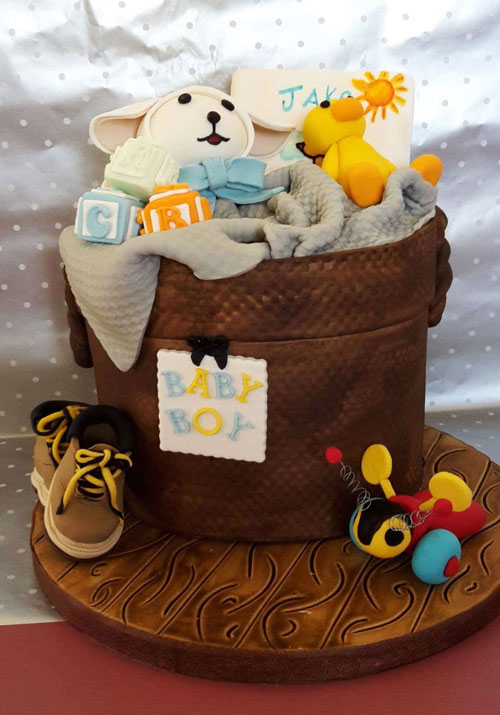 Baby shower cake by Tess