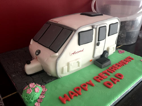 Caravan cake by Joanne hill