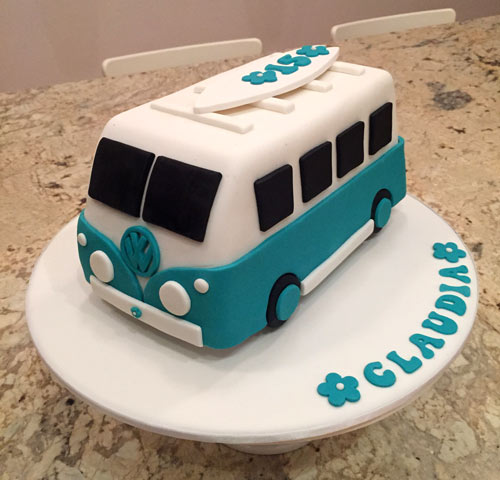 VW kombi cake  by Wendy Tipper