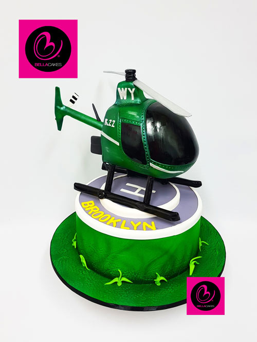 Helicopter cake by Kylie Gracie