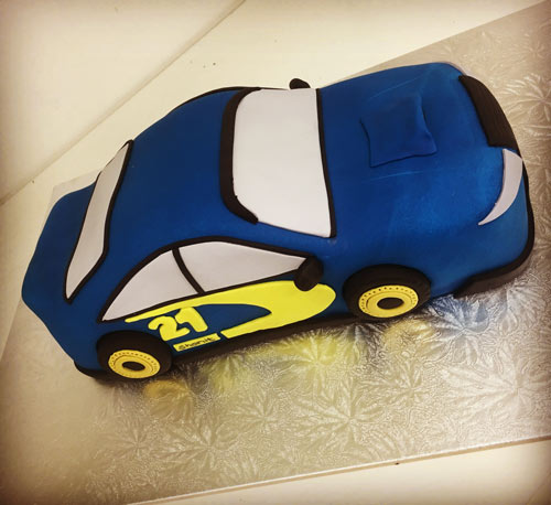Transport Car Cake by Sonay