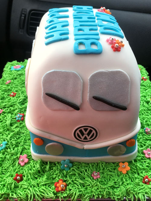 VW Van cake by Kylie Painter