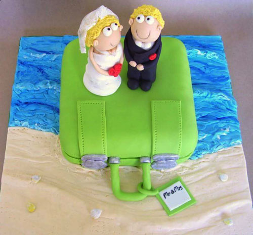 Wedding cake by Letitia Lamb
