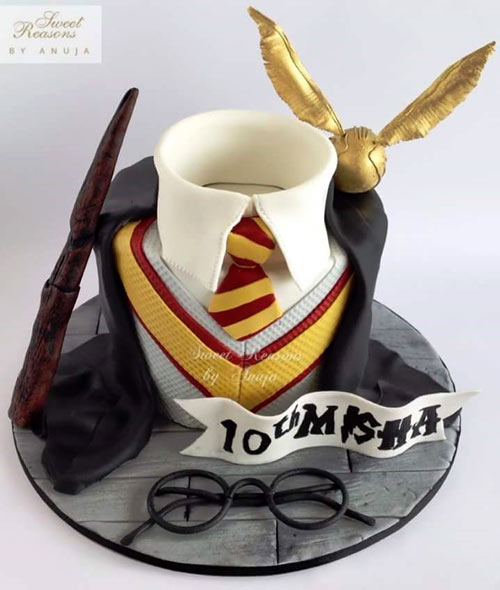 Harry Potter  cake by Anuja kalsi