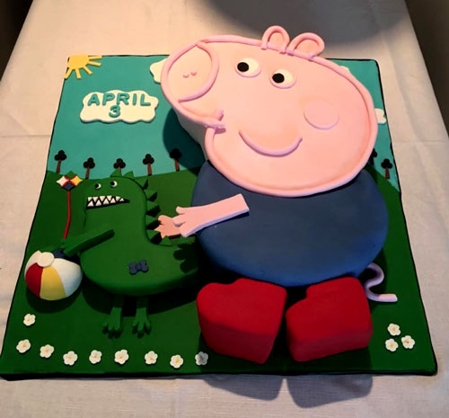 Peppa Pig cake by Elvira