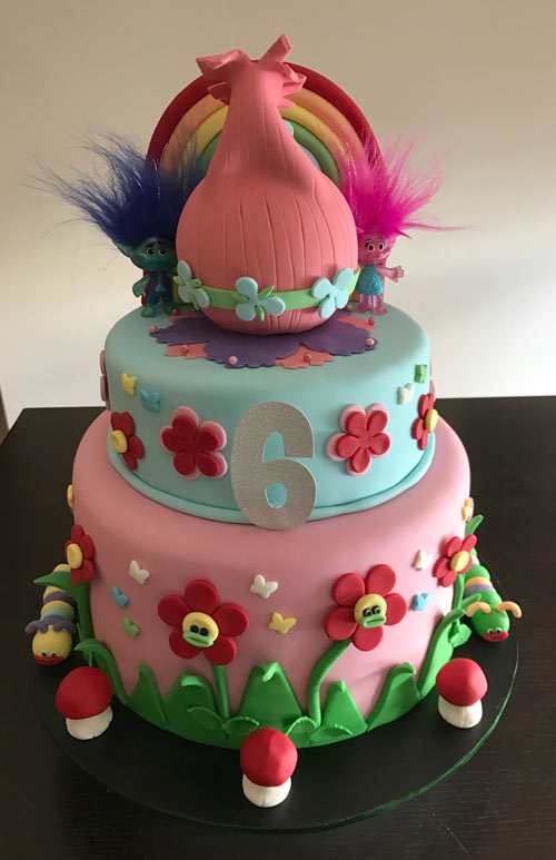 Troll cake by Elvira