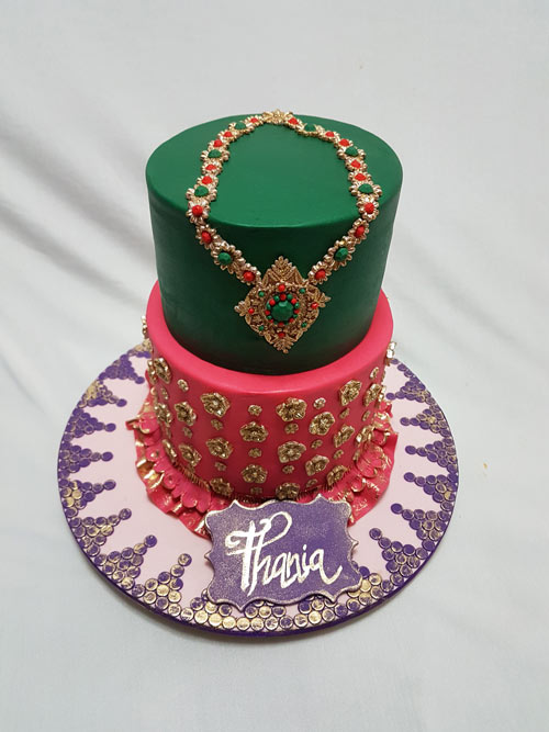 Bollywood fashion cake by Najat Ahmad