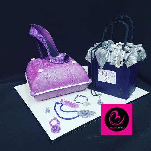 Handbag cake by Kylie Gracie