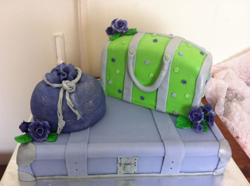 Handbag cakes by Jillian peck