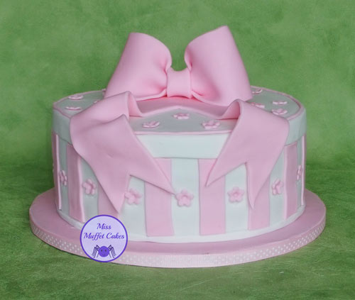 Hat Box Cake by Miss Muffet Cakes