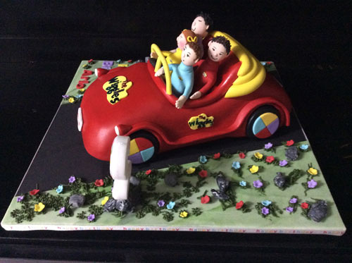 Wiggles cake by Sharon Coutts