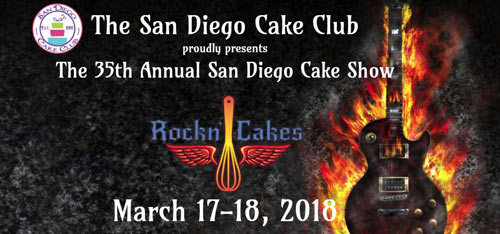 35th Annual San Diego Cake Show!
