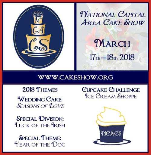 2018 National Capital Area Cake Show