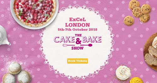 The Cake & Bake Show London 2018