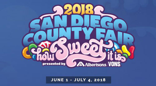 San Diego County Fair - How sweet it is