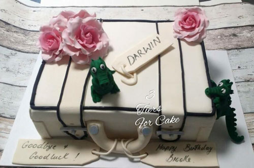 Luggage cake by 3 Tiers for Cake