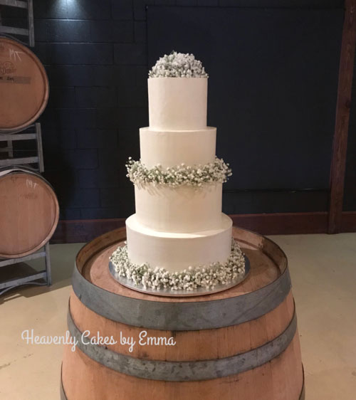 Wedding Cake By Emma Jaensch