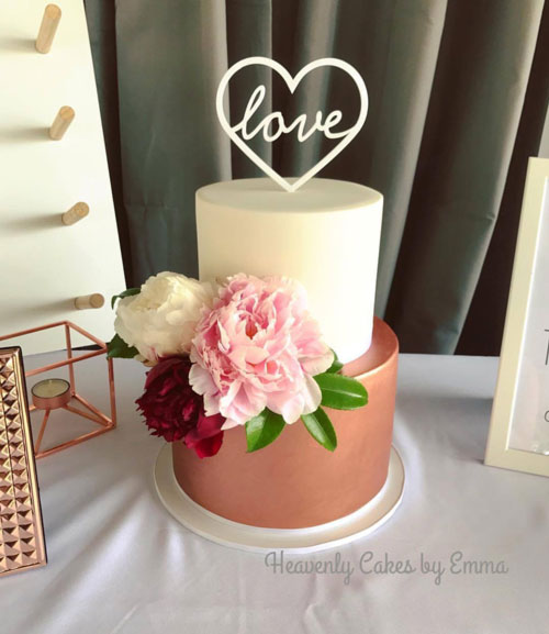 Wedding Cake By Emma Jaensch