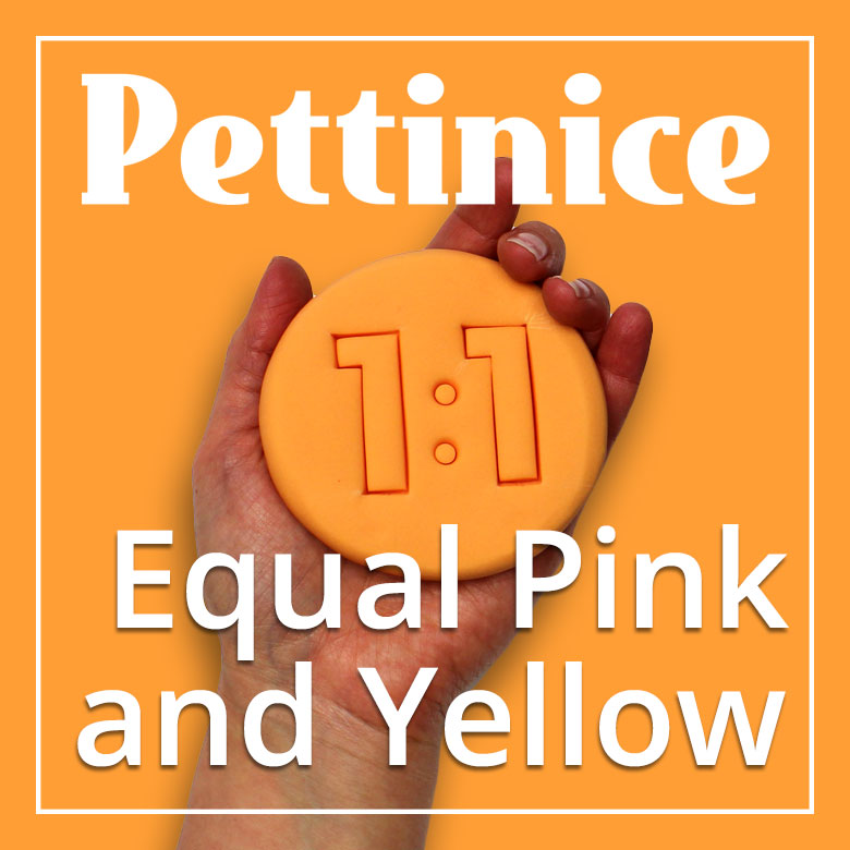 Equal parts Pink + Yellow Pettinice