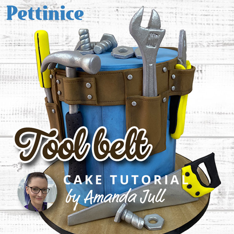 How to make a tool belt cake with Amanda